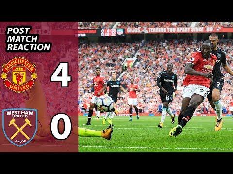 Manchester United 4 West Ham United 0   Post Match Pint