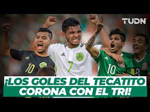 ¡CRACK! ¡TODOS los goles de 'Tecatito' Corona con la Selección! I TUDN