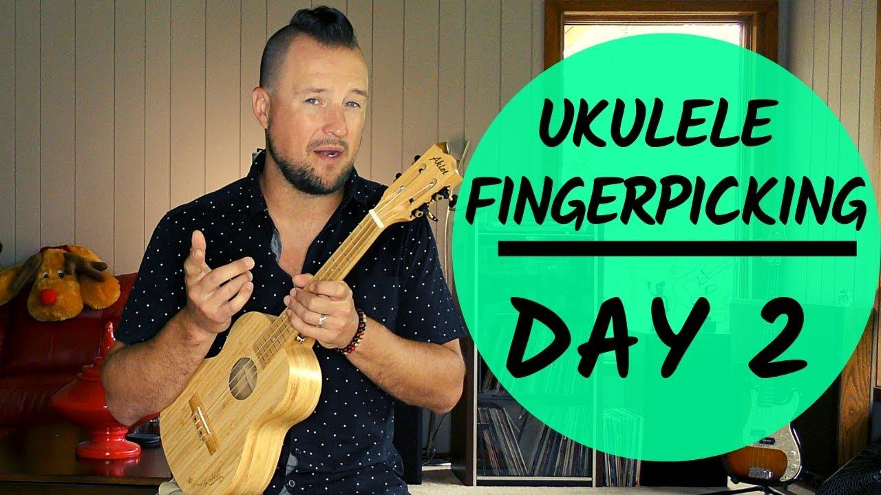 5 Day Series | Ukulele Fingerpicking Patterns | Day 2 | Tutorial + Play  Along