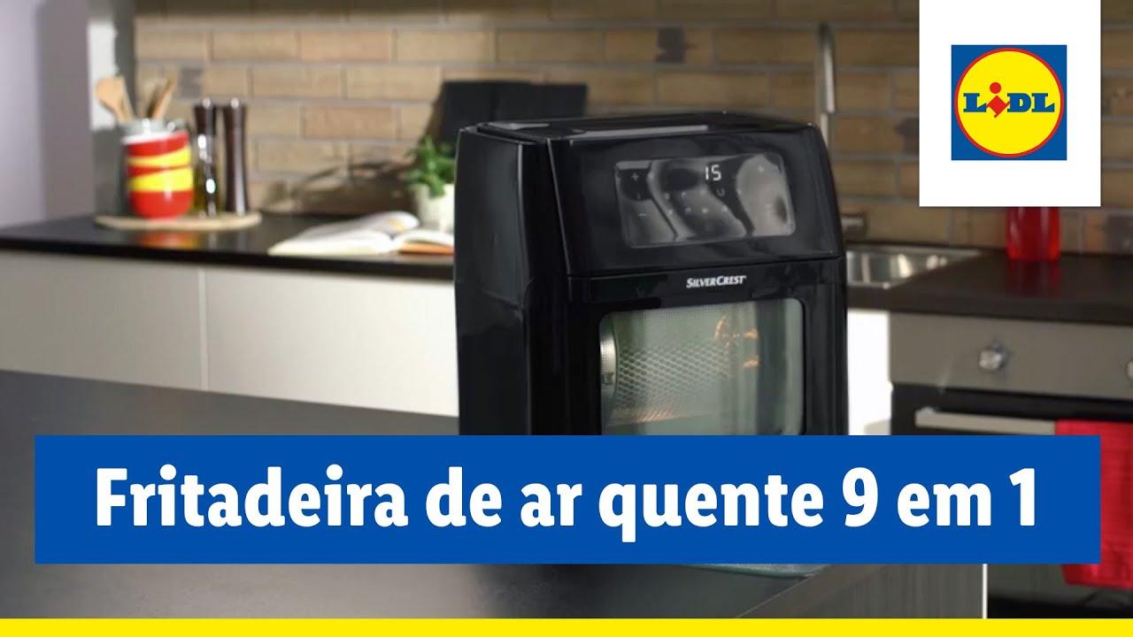 Fritadeira de ar quente 9 em 1 - 332724