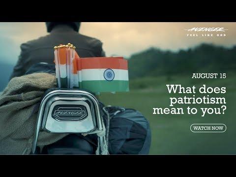 Bajaj Avenger - Independence Day - Show your patriotism