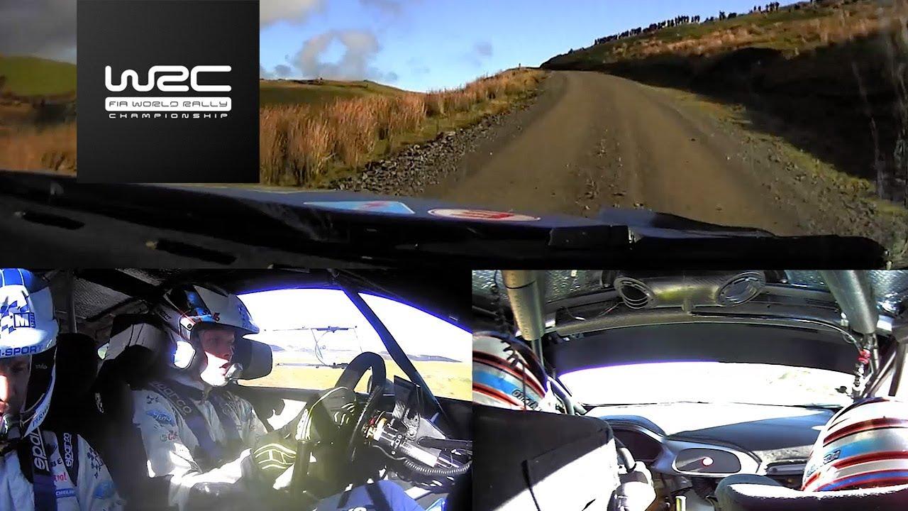 WRC - Dayinsure Wales Rally GB 2017: ONBOARD Ott Tänak SS3
