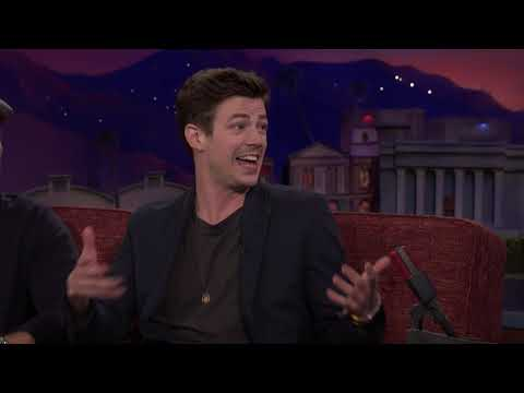 Grant Gustin's Spur Of The Moment Marriage Proposal - Conan