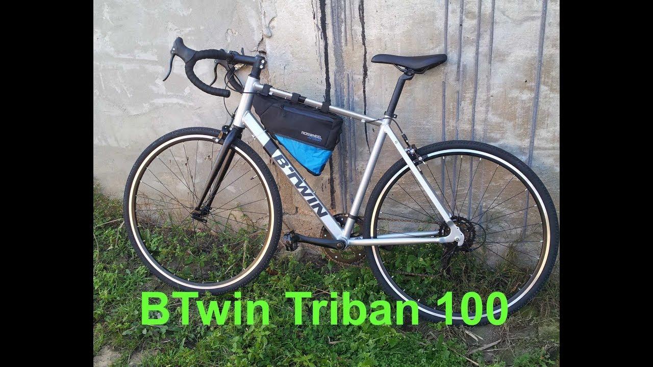 c94e92ba1 Road Bike BTwin Triban 100 german - YouTube