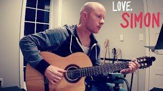 Love, Simon: Simon and Blue (Rob Simonsen) for guitar + TAB