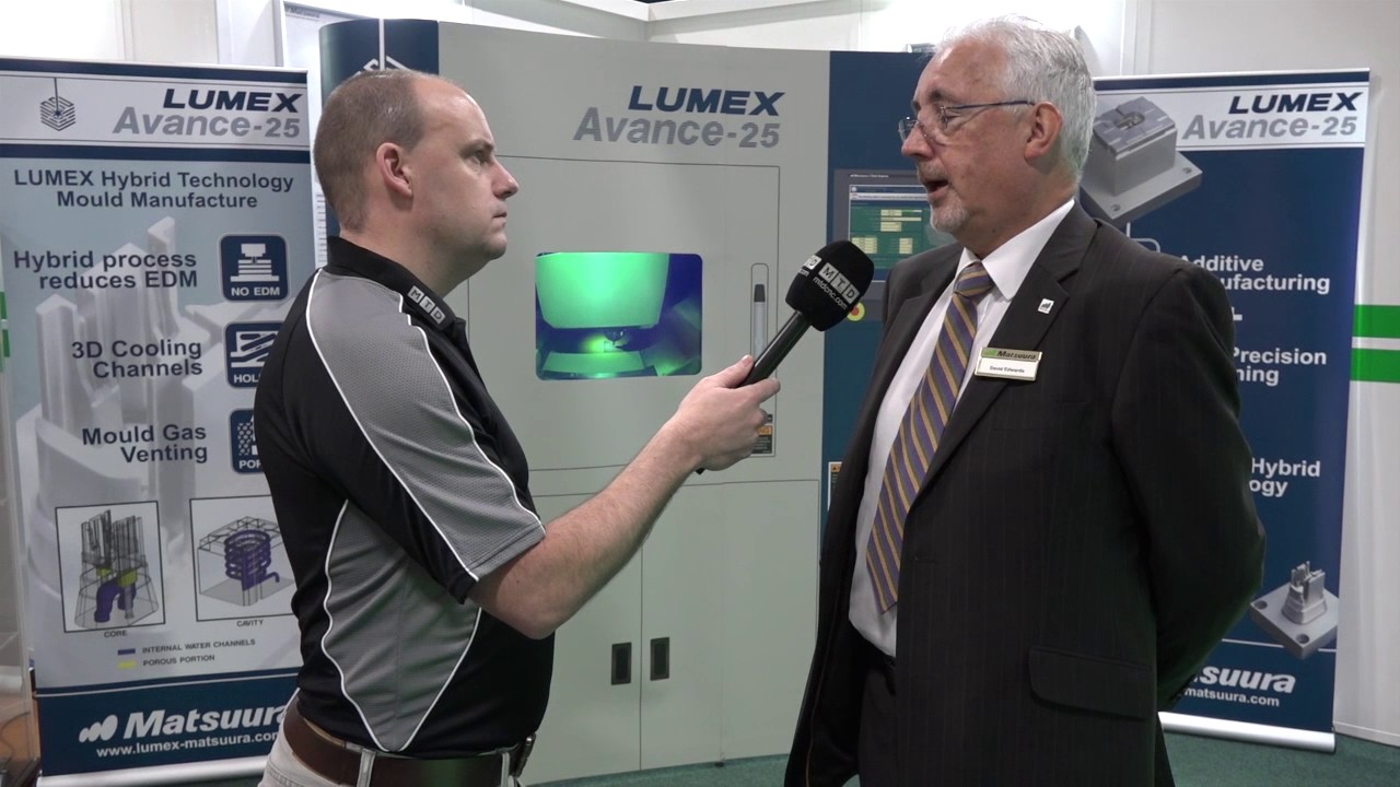 Matsuura Lumex additive and subtractive machining