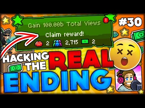 HACKING THE REAL ENDING OF TUBER SIMULATOR (HACK THE IMPOSSIBLE QUEST) PewDiePie Tuber Simulator #30