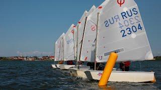 Парусный Спорт - Калининград тренировочный сбор, класс «Оптимист», Pionerskiy Sailing Team