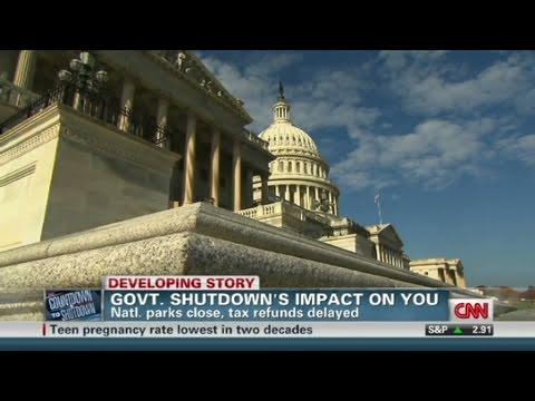 CNN: How government shutdown will impact you