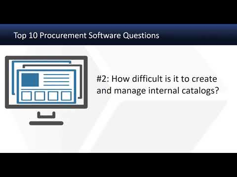 ERP Consultant:  Top 10 Procurement Software Questions from ERP Accounting Software Users