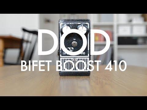 DOD Bifet Boost 410 (demo) with humbuckers