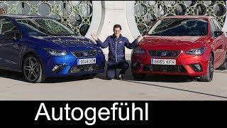 Seat Ibiza FR FULL REVIEW TDI manual vs DSG comparison 2018 - Autogefühl