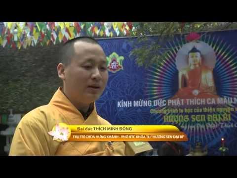Hương Sen Đại Bi: Chúng con quay về nương tựa Phật Thích Ca Mâu Ni- Khóa tu tháng 1/2013