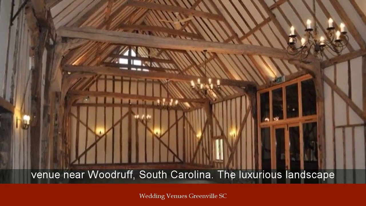 Wedding Venues Greenville SC - YouTube