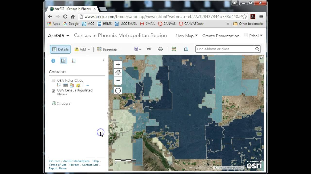 How to Share a Map from Within ArcGIS Online Public Account  YouTube