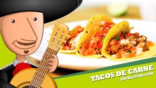 Tacos de Carne - Javi Recetas