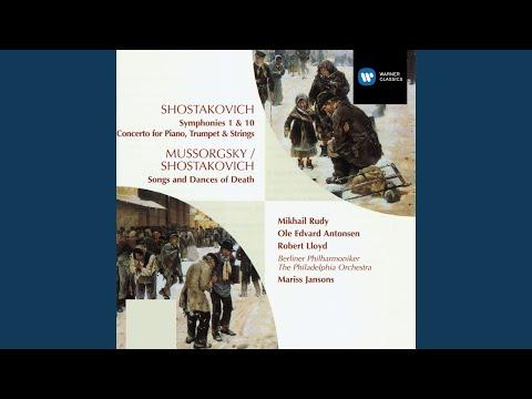 Symphony No 10 in E Minor, Op93: I Moderato