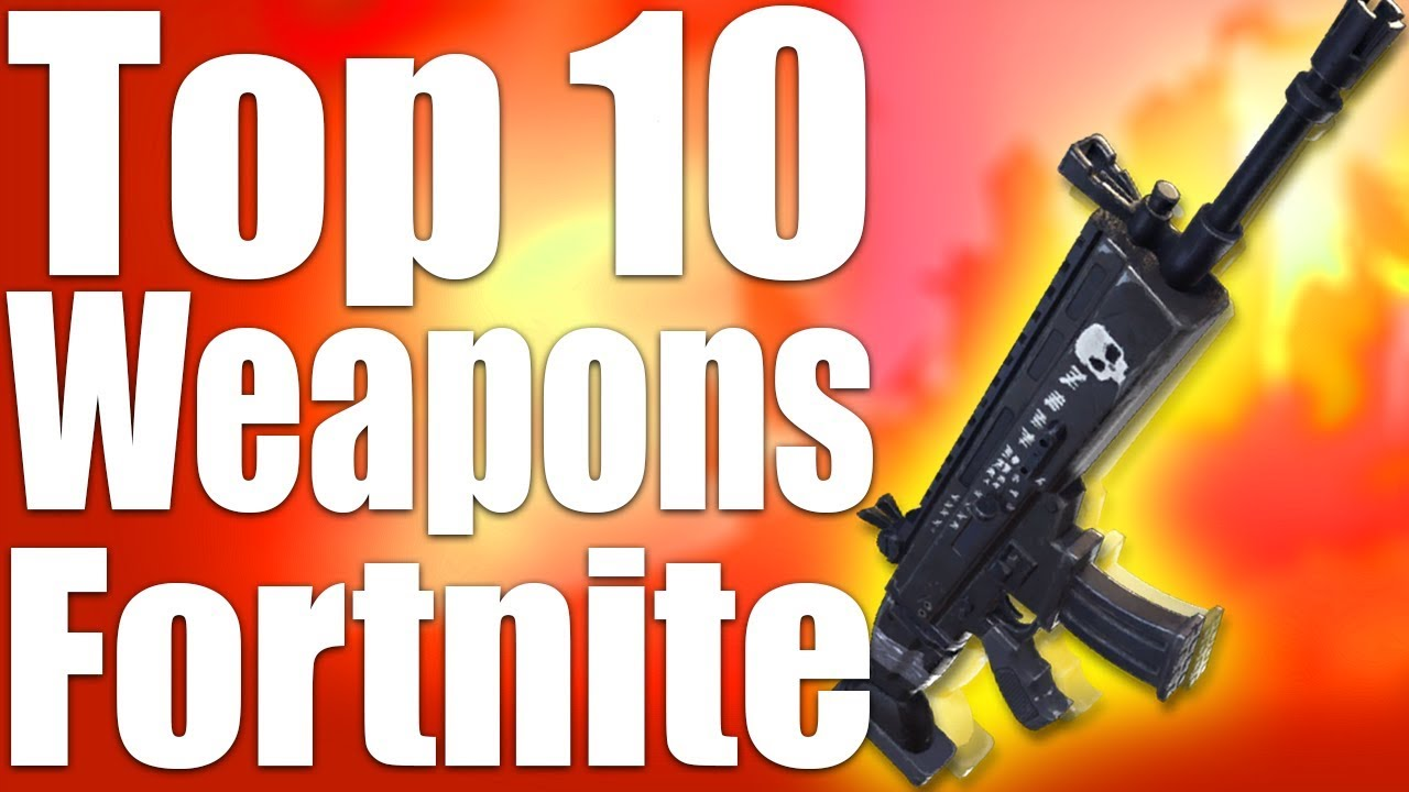 what is the best gun in fortnite