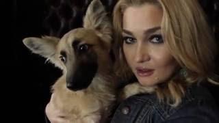 Анастасия Тиханович любит дворняг
