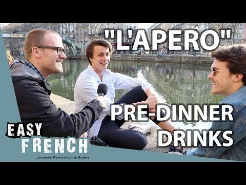 L'apéro: Pre-dinner Drinks In France | Easy French 80