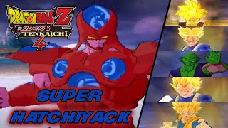 Super Hatchiyack vs Z Warriors - DBZ Budokai Tenkaichi 4 MOD
