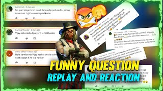 😭 NB VIJAY IS A HACKER 😭 WITH PROOF 😂  TOP 5 FUNNY QUESTION AND REACTION 👻 | #Nellaigaming