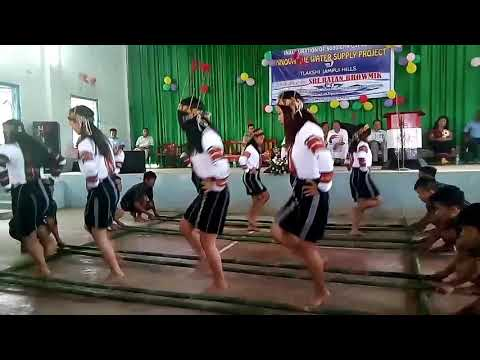 Special bamboo dance of Mizo people from JAMPUI Hill, Tripura