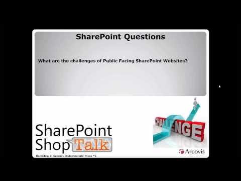 Free Web Parts, Authentications, Public Facing Websites, BI Engagements, Etc. - SharePoint ShopTalk