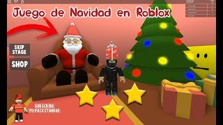 Christmas Game in Roblox We visited the Santa Factory