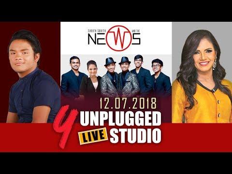 Y Unplugged Live Studio - Sashika nisansala | Jeewaka Viranga | Sarith Surith & The News