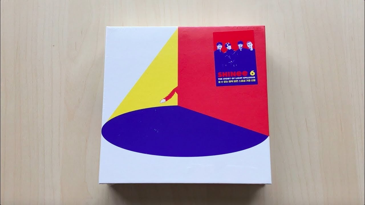 ♡Unboxing SHINee 샤이니 6th Studio Album The Story Of Light: Epilogue♡