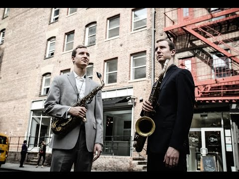 "Peter and Will Anderson, ""Sax Virtuosos"" (NY Times)"