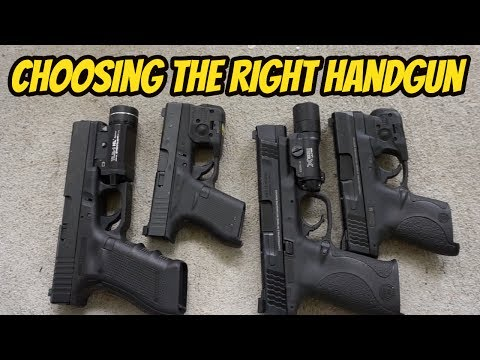 Choosing the Right Handgun| Concealed Carry & Home Defense