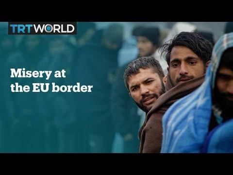 Migrants facing abuse at Croatian border