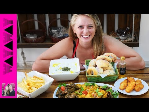 Learning to cook Cypriot Food! North Cyprus foods!