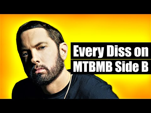 "Every Diss On EMINEM's ""Music To Be Murdered By - Side B"" Album"