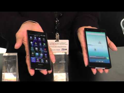 Panasonic ELUGA @ Mobile World Congress 2012