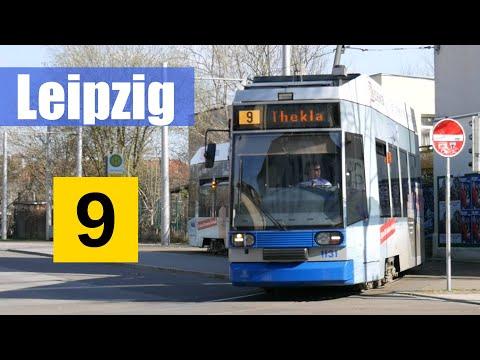 [Doku] Linie 9 Leipzig | S-Bhf Connewitz - Thekla (2017) | Linien im Portrait