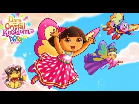 DORA THE EXPLORER Dora Saves the Crystal Kingdom - Full Game [Wii HD] (Nick Jr. Games)