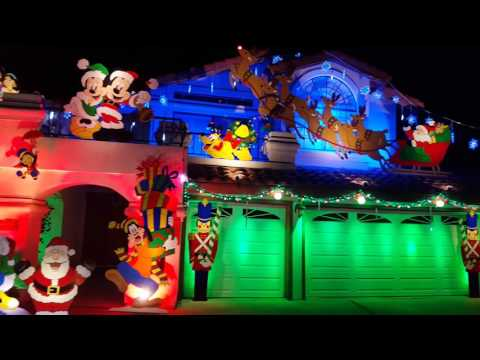 outdoor christmas decorations 2015 youtube