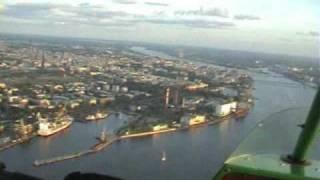 Ознакомительные полёты  и  обучение  пилотированию