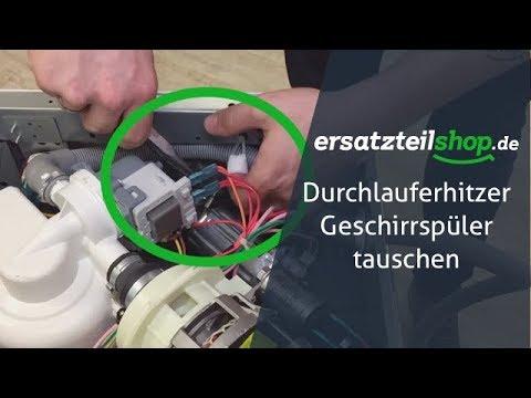 Häufig Heizung Geschirrspüler Durchlauferhitzer Geschirrspüler tauschen BZ93