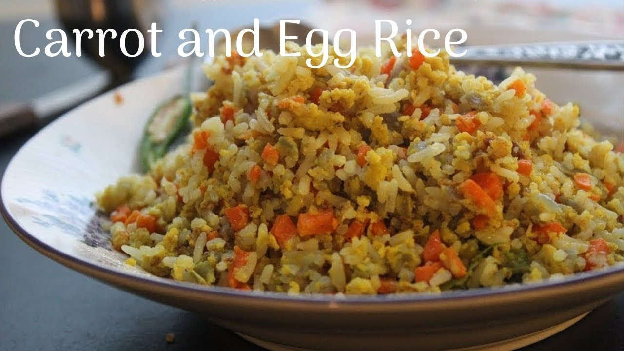 how to make egg rice in tamil