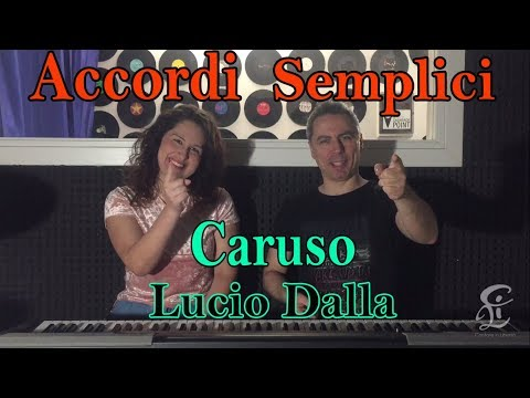 #15 CARUSO (Lucio Dalla) - Tutorial Pianoforte - Accordi facili