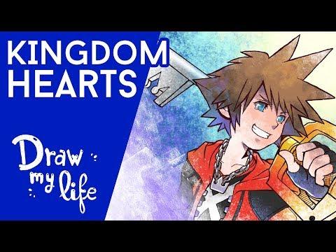 LA HISTORIA DE KINGDOM HEARTS - Play Draw con KEYBLADE