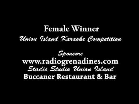 Female Karaoke Winner - Union Island Got Talent May 2012