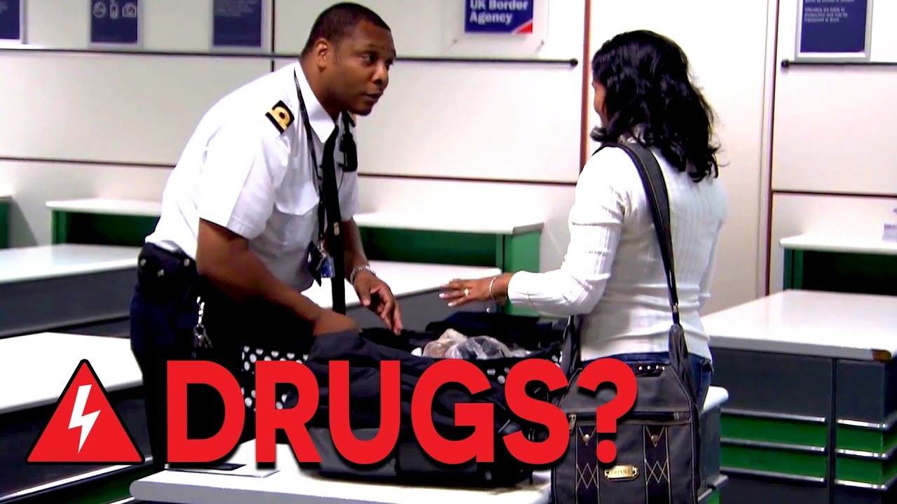 Download Border Agents Search For Hidden Drugs at Gatwick Airport | Customs