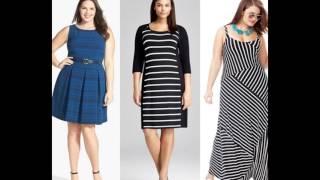 Платья для полных женщин с примеркой