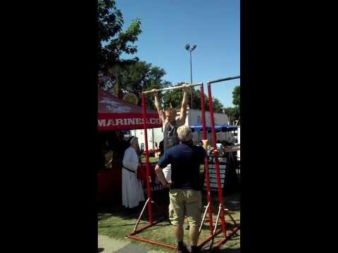 marine corps pull up state fair record