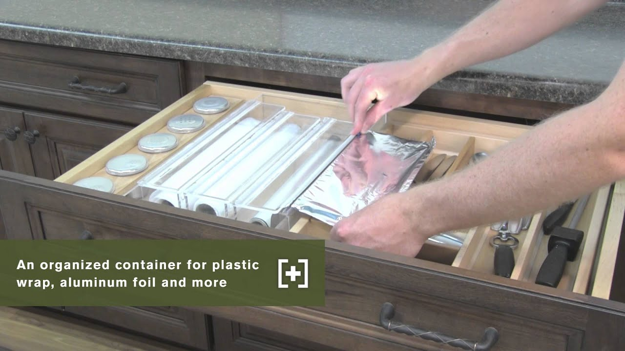 Schuler Cabinetry: Wrap Organizers, Kitchen Storage Part 25